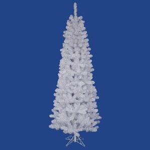 Salem Pencil 8.5u0027 White Pine Artificial Christmas Tree