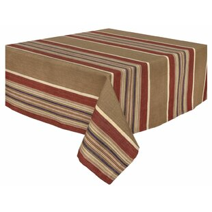 Bunkhouse 100% Cotton Striped Tablecloth