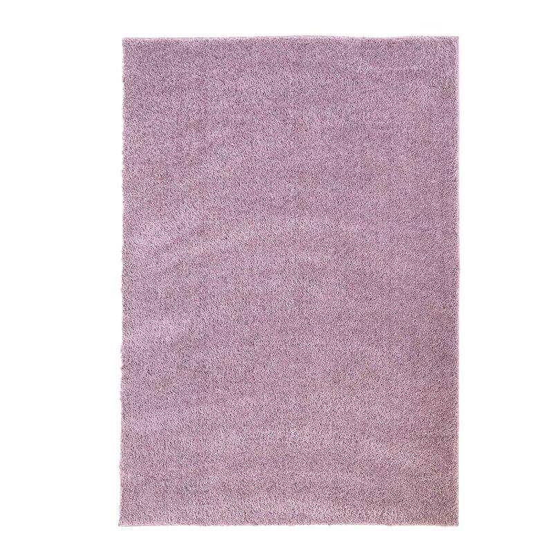 Carpet City Hochflor Teppich In Lila Bewertungen Wayfair De