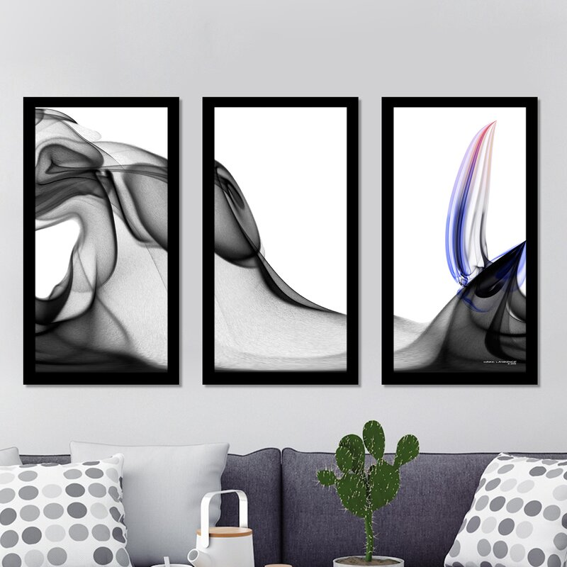 Mark Lawrence  Romans 8 39 Max  Framed Plexiglass Wall Art Set Of 3
