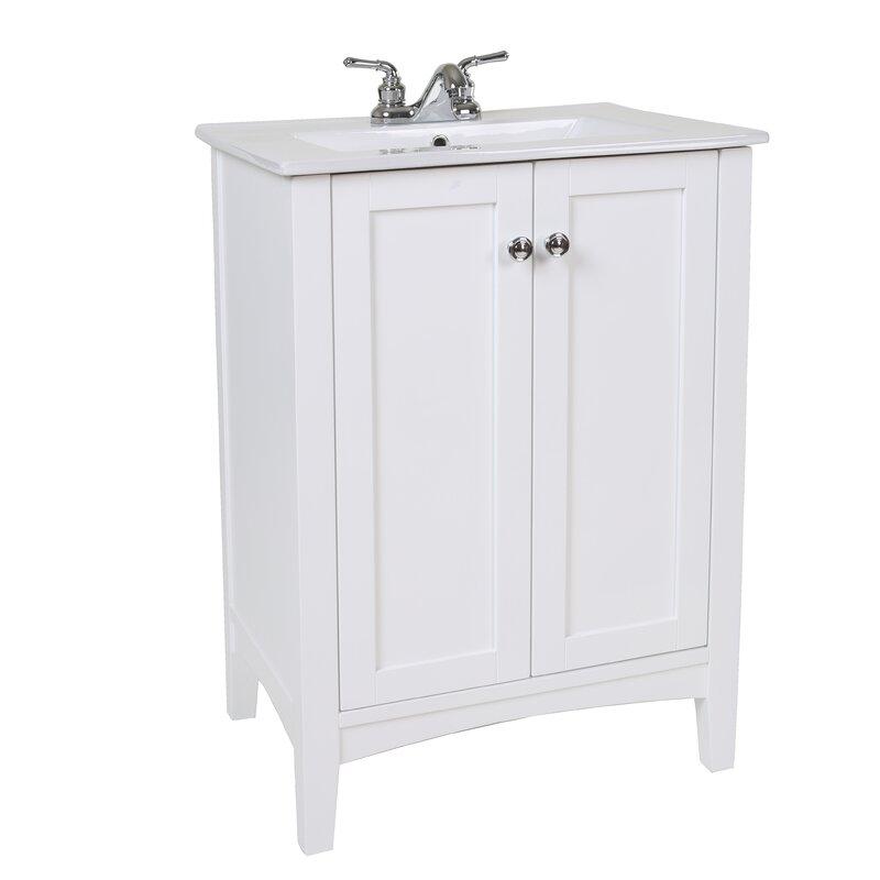 Jeremiah 24  Single Bathroom Vanity Set. Modern Bathroom Vanities   Cabinets   AllModern