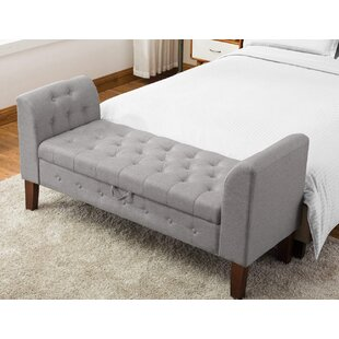 Battle Upholstered Storage Bench