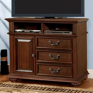 Rosso Traditional Wooden Media 3 Drawer Chest