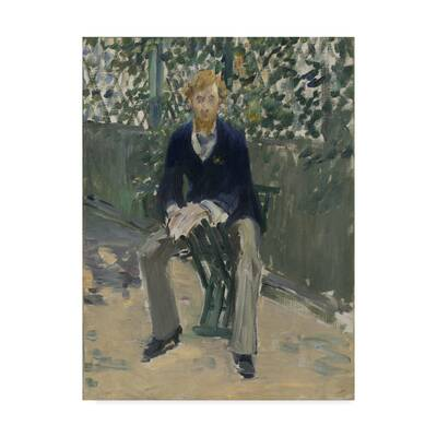Boy with the cherries by Édouard Manet Giclee Fine ArtPrint Repro on Canvas