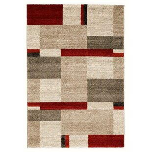 Area Rugs With Red And Beige Wayfair
