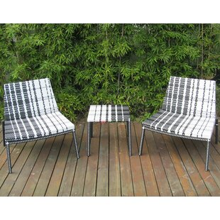 Ohana 3 Piece Rattan Conversation Set