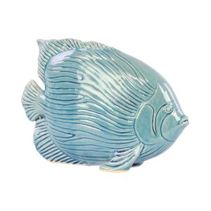 Linear Scales Fish Figurine