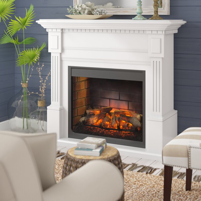 Darby Home Co Juri Electric Fireplace Reviews Wayfair