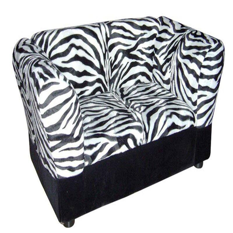 Zebra Storage Dog Sofa Bed