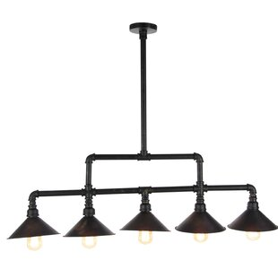 Hodgin 5-Light Kitchen Island Pendant