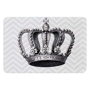Crown by Suzanne Carter Bath Mat By East Urban Home