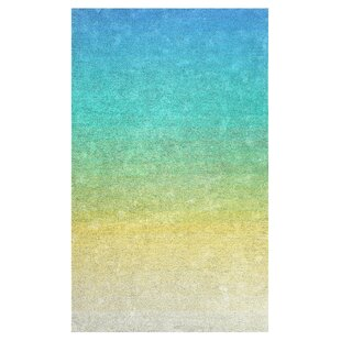 Faunce Hand-Tufted Green/Yellow Indoor/Outdoor Use Area Rug ByEbern Designs