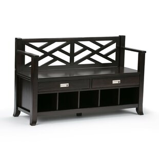 Osterberg Solid Wood Storage Bench