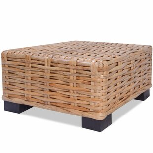 Shanita Natural Rattan Coffee Table by Brambly Cottage
