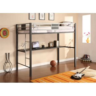 Price comparison Silver Screen Twin Loft Bed By DHP