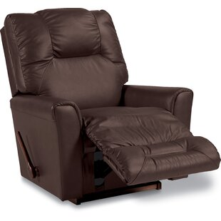 Read Reviews Easton Leather Rocker Recliner by La-Z-Boy Reviews (2019) & Buyer's Guide