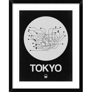 Tokyo Subway Map Framed.Subway Map Wayfair