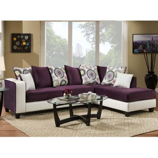 Dilorenzo Modern Solid Wood Sectional