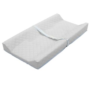 33 L x 16 W x 4 Thick with Easy to Clean Colgate 2-Sided Contour Changing Pad Waterproof and Tear-Resistant White Quilted Cover Made in the USA Portable Changing Area