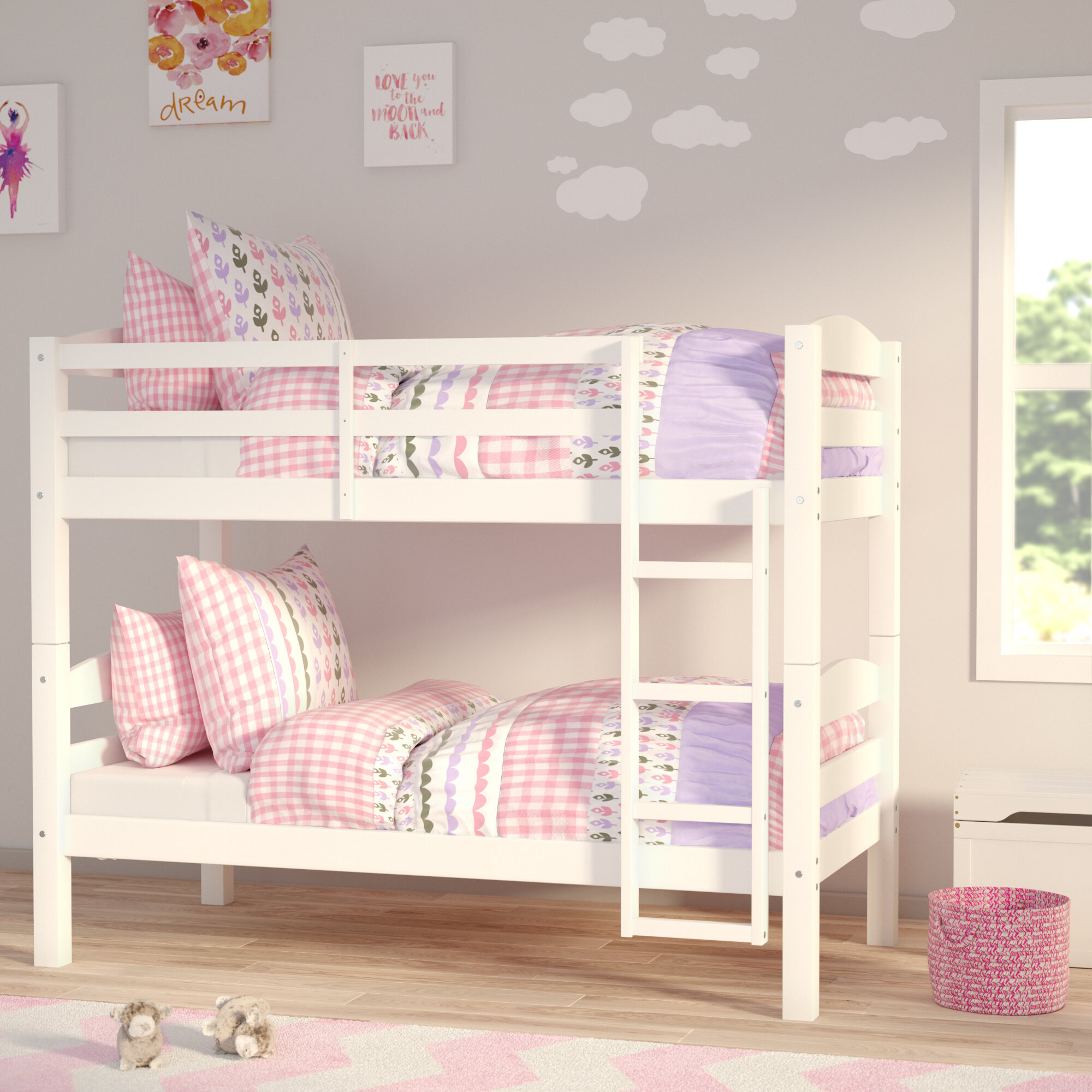 Wayfair | Viv + Rae Abby Twin over Twin Bunk Bed