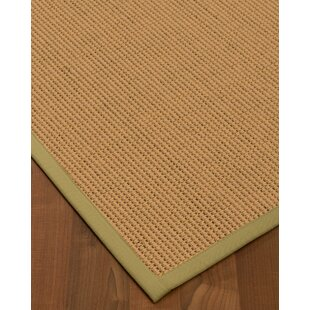 Badham Hand-Woven Wool Beige Area Rug by Winston Porter