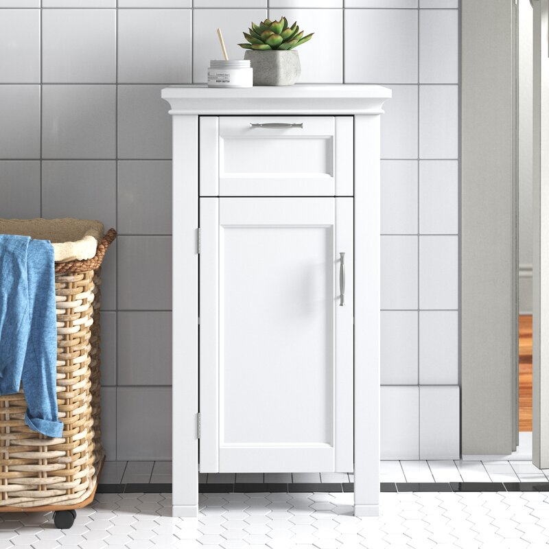 Andover Mills Somerset 15 75 W X 30 25 H X 11 81 D Free Standing Bathroom Cabinet Reviews Wayfair