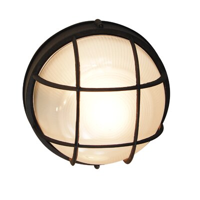 Transglobe lighting 1 light outdoor bulkhead light wayfair 1 light outdoor bulkhead light aloadofball Images