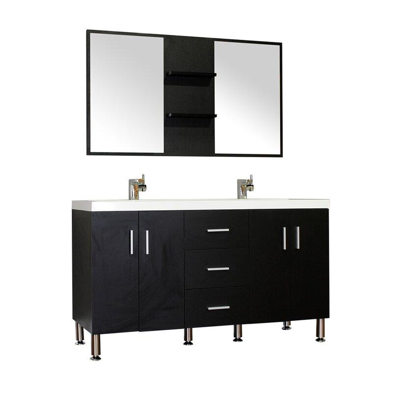 Default nameWade Logan Waldwick 56 Double Modern Bathroom Vanity Set withModern Bathroom Vanities Ft Lauderdale  Modern Bathroom Vanities  . Modern Bathroom Vanities Ft Lauderdale. Home Design Ideas