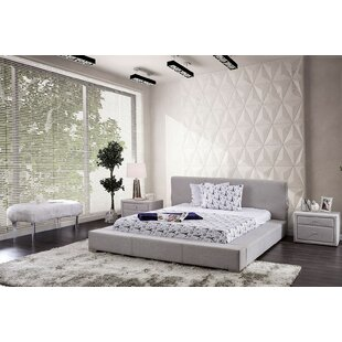 Read Reviews Cotswald Upholstered Panel Bed by Everly Quinn Reviews (2019) & Buyer's Guide
