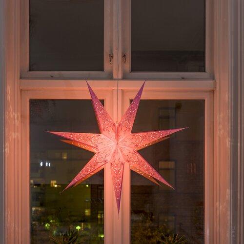 Weihnachtsleuchte Stern Konstsmide Farbe: Pink   Weihnachten > Weihnachtsbeleuchtung   Konstsmide