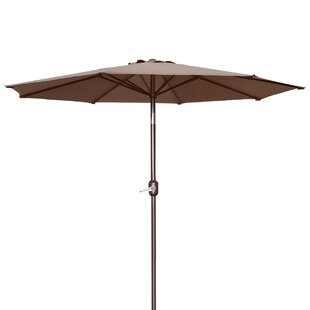 Milligan Hexagonal Outdoor Garden Patio Market Umbrella by Alcott Hill Great price