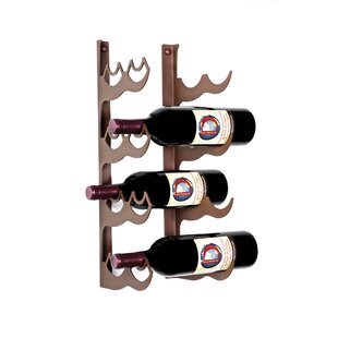 Ippolito 8 Bottle Wall Mounted Wine Rack