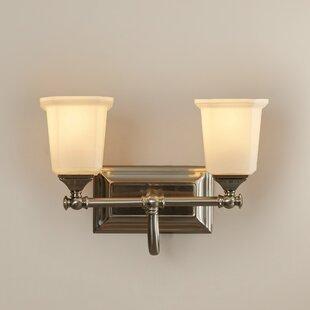 Buy luxury Bima 2-Light Vanity Light ByThree Posts