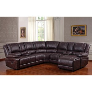 Saratoga Reclining Sectional by Living In Style