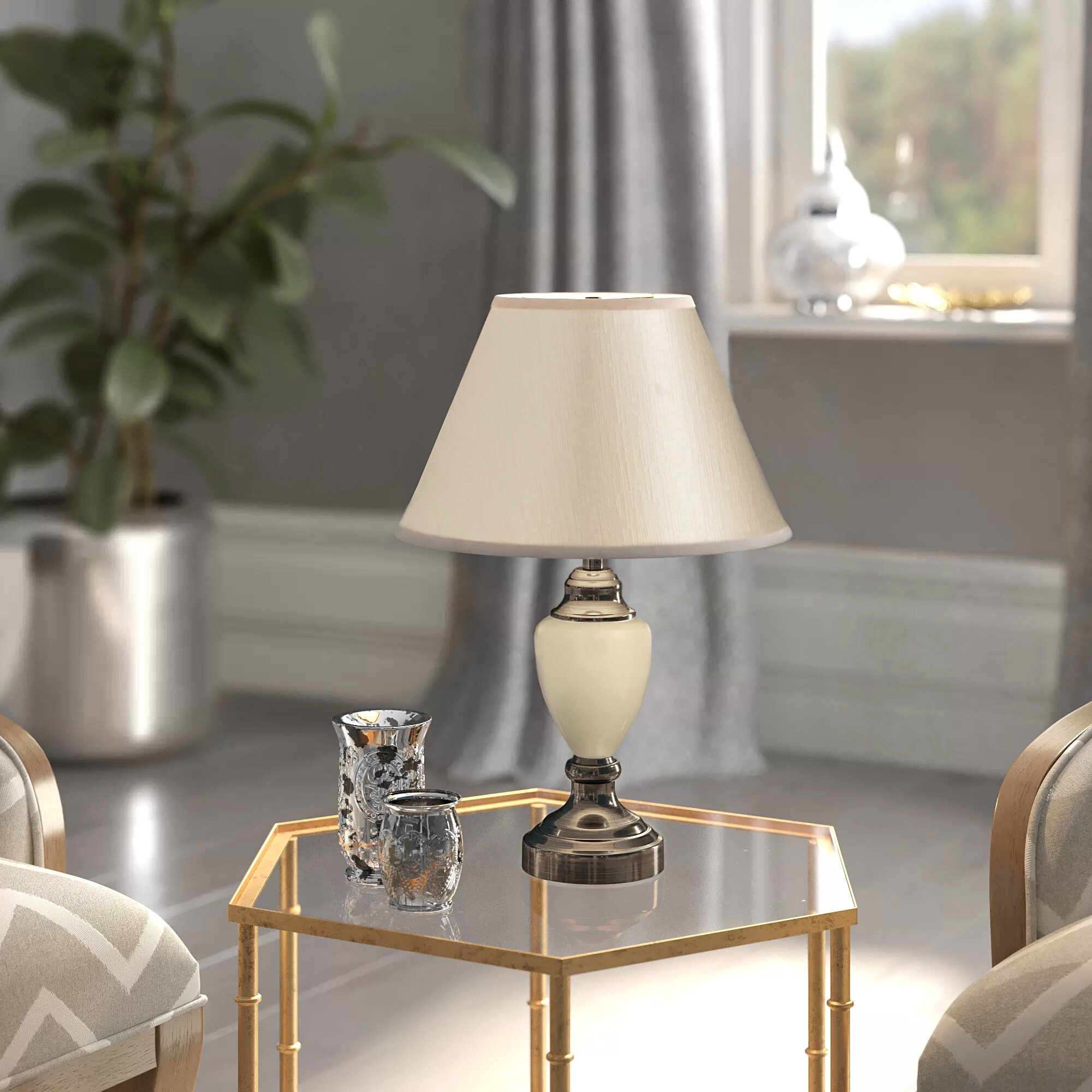 Brashears 43cm Table Lamp