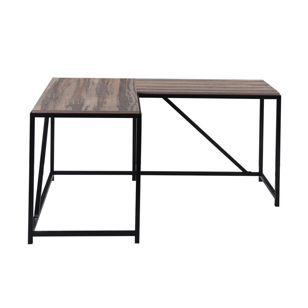 Latitude Run Home Office L Shape Desk Reviews Wayfair