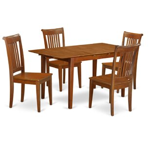 Picasso 5 Piece Extendable Dining Set by Wooden Importers Herry Up