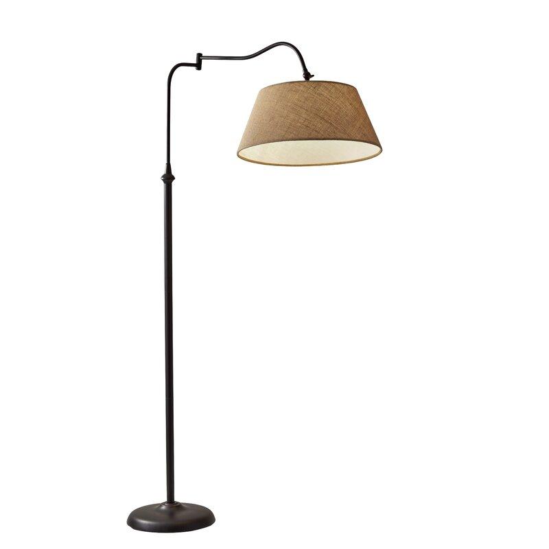 models visual arm floor light max studio comfort obj lamp mtl fbx model swing floors furniture