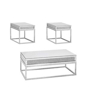 Verlyn 3 Piece Coffee Table Set by Everly Quinn