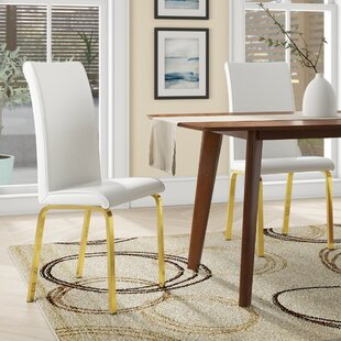 Leia Upholstered Dining Chair (Set of 2) Wrought Studio