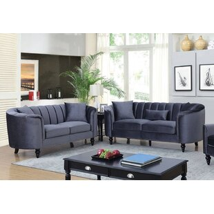 Linnea Sofa and Loveseat Set by Williams Import Co