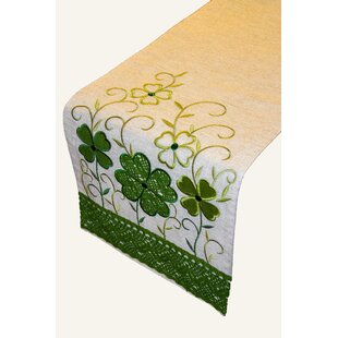 Philpot Crochet Clover Table Runner