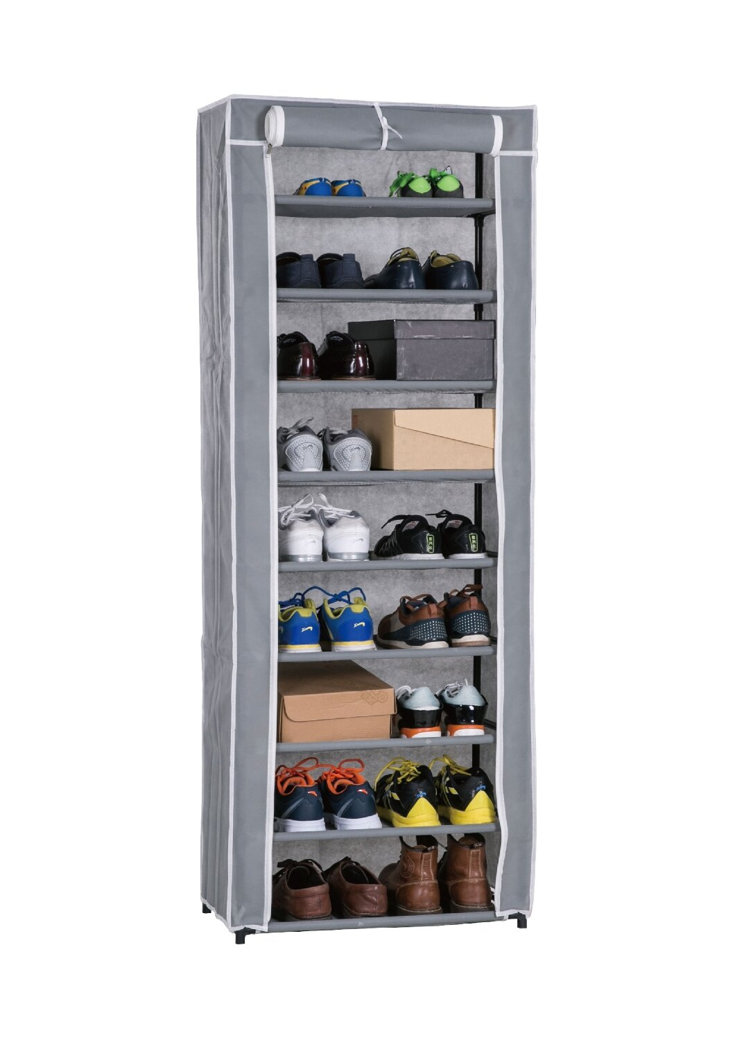 686d40c2c346 Roll-Up 30 Pair Shoe Rack