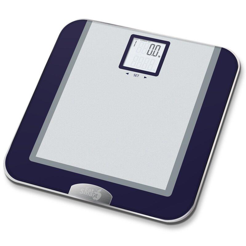 Precision Tracker Digital Bathroom Scale. EatSmart Precision Tracker Digital Bathroom Scale   Reviews   Wayfair