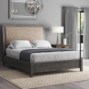 Suzette Upholstered Sleigh Bed