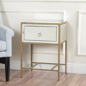 Crosby End Table With Storage