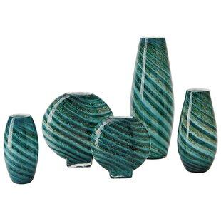 Swirl Round Large Table Vase
