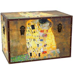 Works of Klimt Trunk by Oriental Furniture