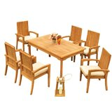 Wilkinson 7 Piece Teak Dining Set