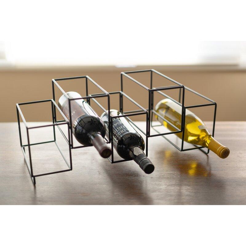 Bia Kitchen Home 5 Bottle Tabletop Wine Bottle Rack Wayfair
